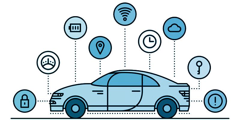 Autonome Fahrzeugtechnik.